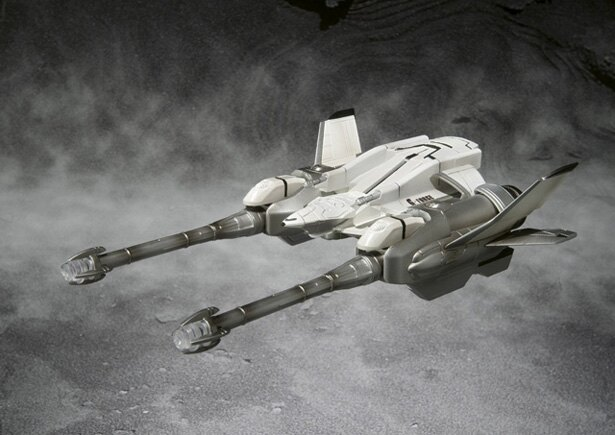 飛行マシン・ガルーダのフィギュア、S.H.MonsterArts UX-01-92 ガルーダ & メカゴジラ対応エフェクト