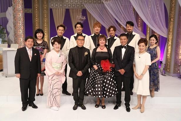 番組には千昌夫、川中美幸、ビリー・バンバンら登場し、往年のヒットソングを披露