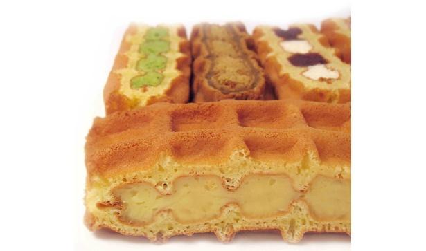定番のワッフルケーキ