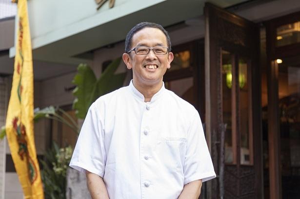 1990年代前半に、新宿で5坪の店からスタートした柴田力さん。バリ島観光ブームも手伝って盛況となり、1997年に渋谷に移った