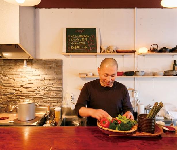 「日々ノ泡」。ワインに合う料理を追求して生まれた、 菜・魚・肉の多彩なメニューを召し上がれ
