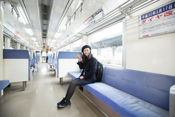 ツアーだけでなく、のんびり列車旅を楽しむのもオススメ!