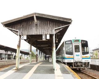 レトロな雰囲気が人気の天竜浜名湖鉄道 天竜二俣駅