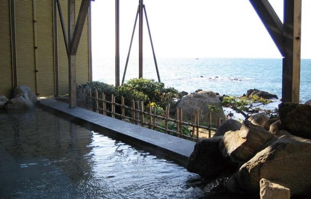 <喜八荘>玄界灘を眺めながらつかる湯、登山の疲れも一瞬で吹き飛ぶ!