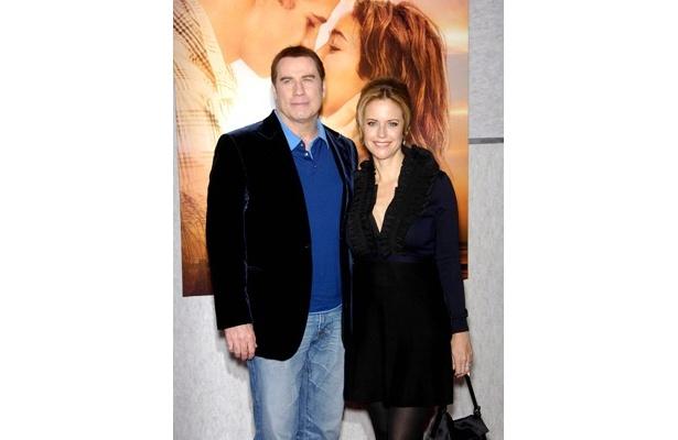 ジョン・トラボルタと妻ケリー・プレストン