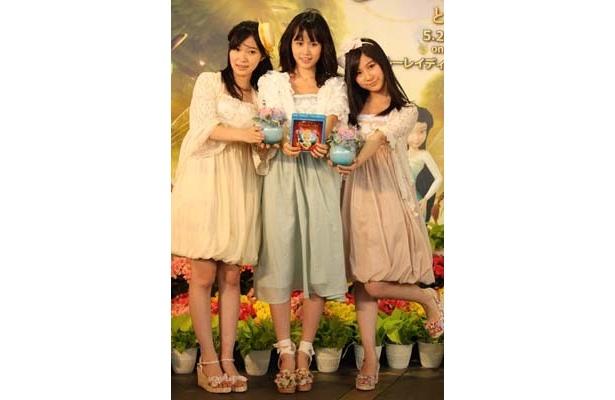 【写真】3人の超可愛いドレス姿はコチラ!