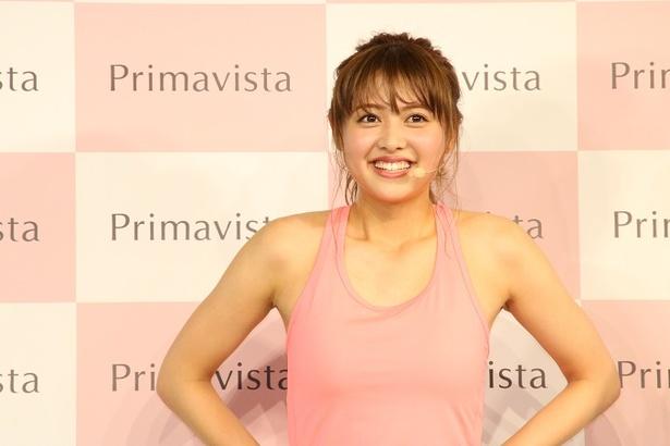 松元絵里花がAYA指導の下、筋肉トレーニングに挑戦