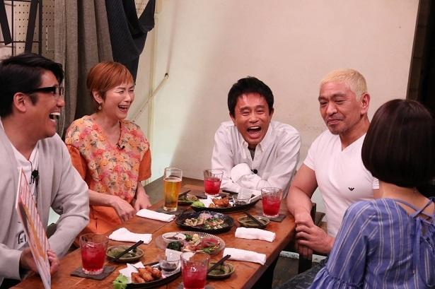 手塚理美のトークでは、次男・日南人が合流!