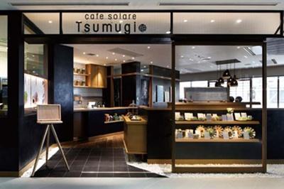 テイクアウトは入口横のカウンターで/カフェ ソラーレ Tsumugi LUCUA店