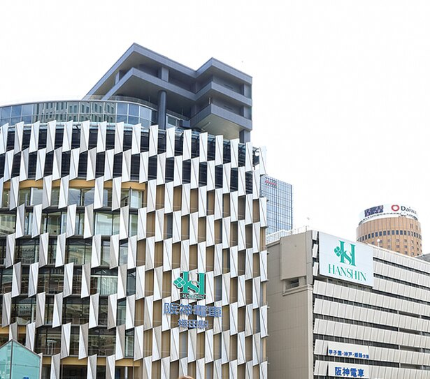 6月に第1期棟がオープンする阪神梅田本店の外観