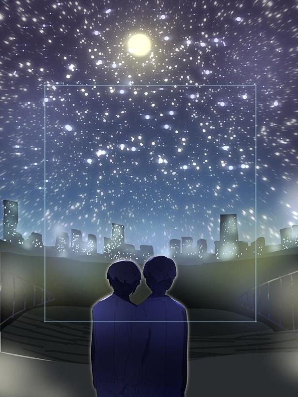「林遣都賞」を贈られたおさつさんの作品「天体観測」