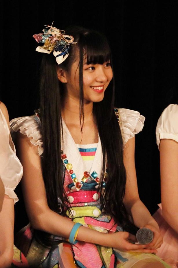 初選抜の末永桜花はロングヘアーがチャームポイント