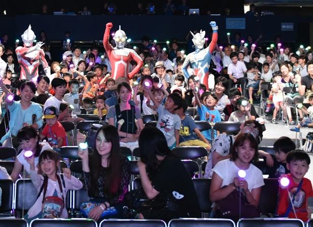 「ウルトラライブステージ」はウルトラフラッシュで一緒に盛り上がれ!」(写真は2017年開催時のもの)