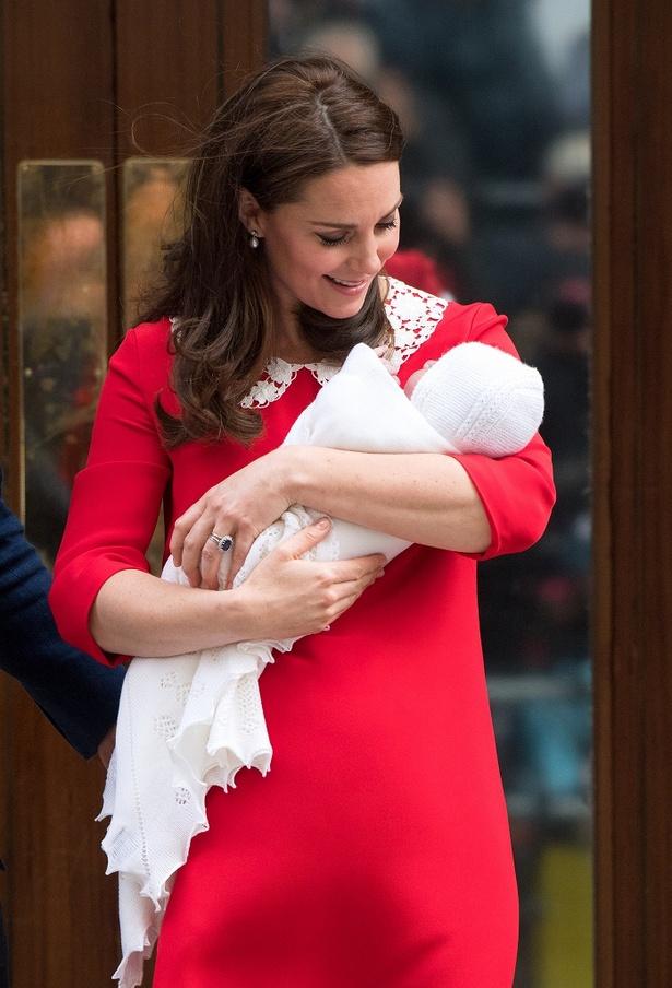 先月第3子となるルイ王子を出産したキャサリン妃