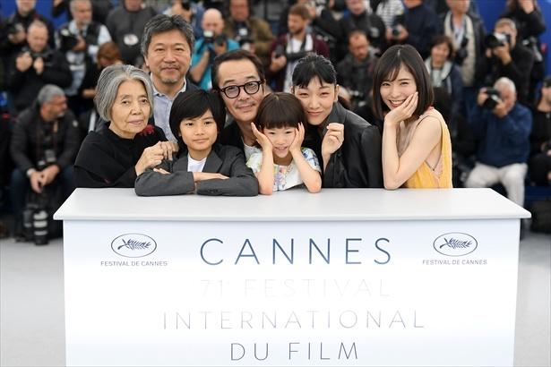 「万引き家族」(6月8日公開)がカンヌ国際映画祭パルムドール受賞!