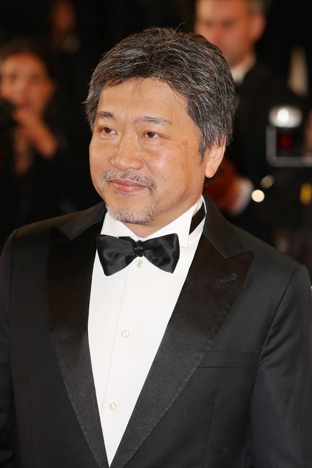 コンペ部門5度目の出品で快挙を成し遂げた是枝裕和監督