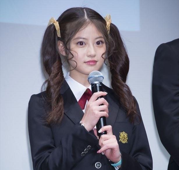 「花のち晴れ~花男 Next Season~」では、少し気が強いお嬢様・真矢愛莉を演じる今田美桜