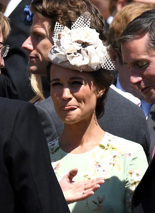 キャサリン妃の妹・ピッパのドレスが話題に!