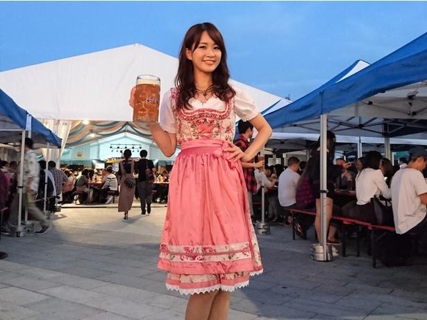 今年の目玉は奈良初上陸となるドイツビール