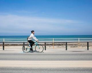 海の中道から陸続きの志賀島。絶景、グルメ、温泉を巡りながら、ぐるっと一周サイクリング