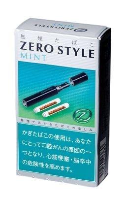 無煙タバコの「ゼロスタイルミント」(300円)