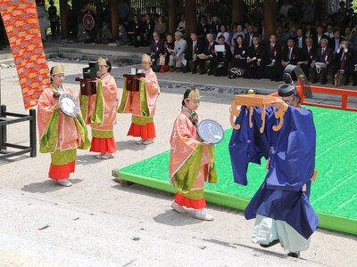 近江神宮 漏刻祭