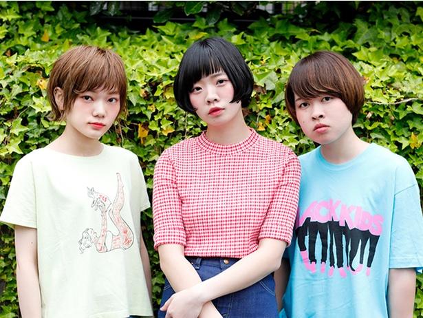 写真左から松岡彩、宮崎朝子、吉川美冴貴