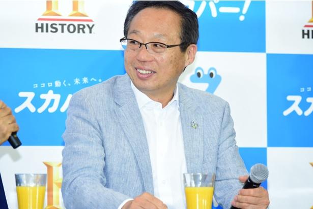 サッカー元日本代表監督の岡田武史