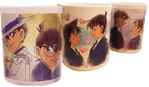 【写真を見る】コナンプラザ限定のマグカップ(各1296円)