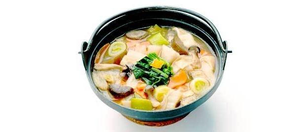 深谷市/煮ぼうとう。幅広麺と、野菜の煮込みで体もポカポカ