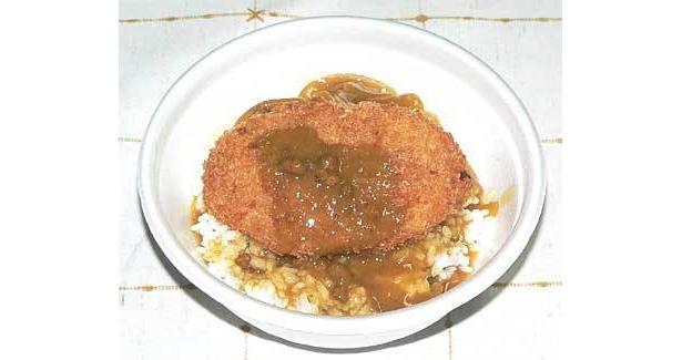 鴻巣/こうのすコロッケカレー丼。地元で愛されたお肉屋さんのコロッケが復活!