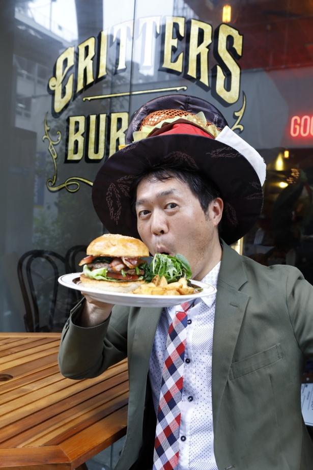過去15年で5000種のハンバーガーを食べた、西日本ハンバーガー協会・薮