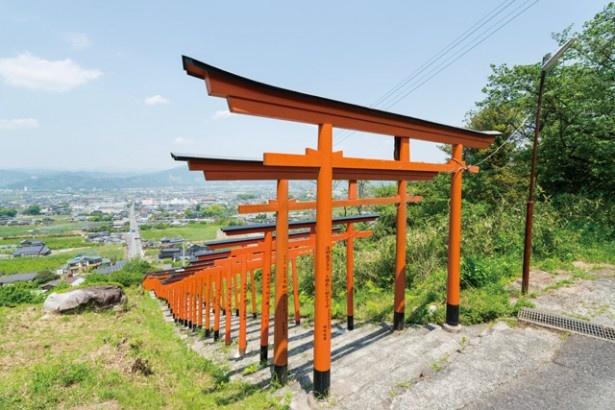 福岡・うきはで、人気急上昇中の絶景スポット・浮羽稲荷神社