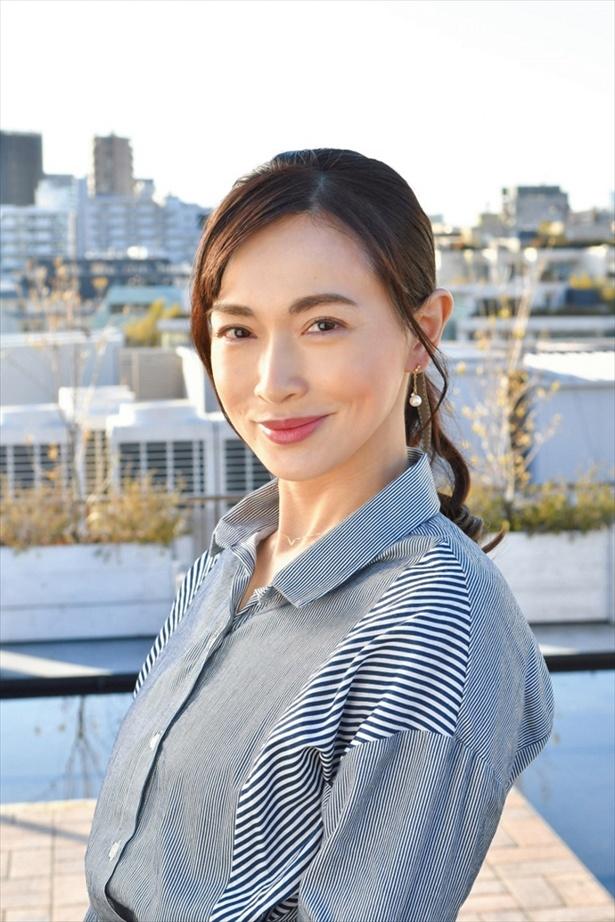 「ラストチャンス―」に主婦・樫村明子役で出演する長谷川京子