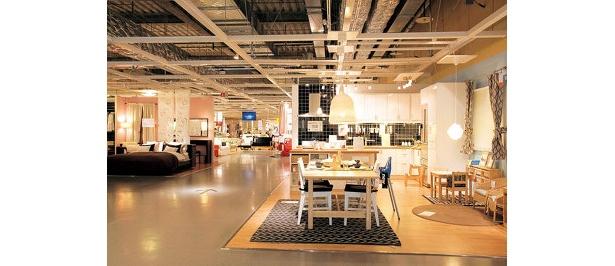 IKEAのショールーム
