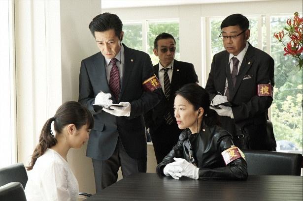 宮近海斗が佐久間朗役で出演中の井ノ原快彦主演ドラマ「特捜9」のシーンカット