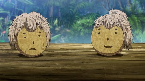 「ヒナまつり」第9話の先行カットが到着。もう一人の能力者・マオが無人島へ!