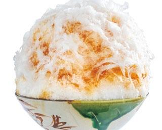 「ほうじ茶かき氷」(1000円)/茶三楽
