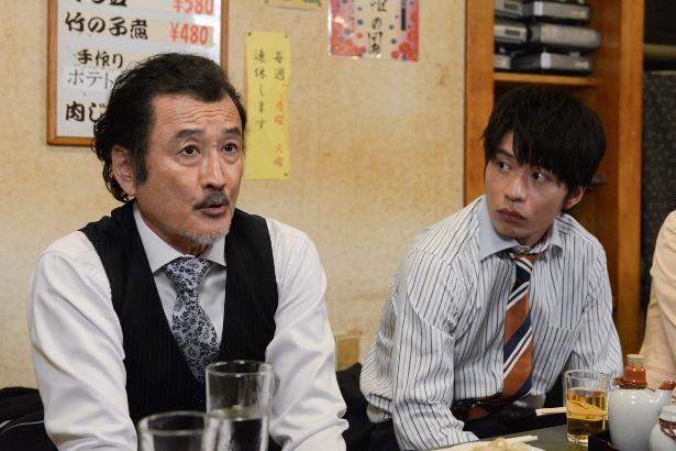 「おっさんずラブ」に出演する(写真左から)吉田鋼太郎、田中圭