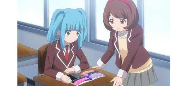 「魔法少女サイト」第9話の先行カットが到着。虹海のステッキを奪った要の企みとは?