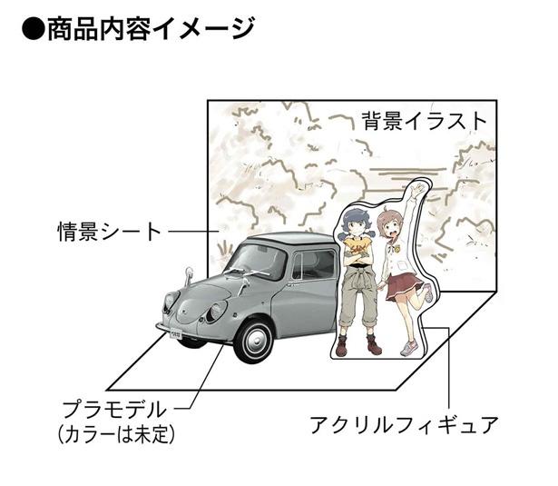 漫画「ぜっしゃか!」がプラモメーカーのハセガワとコラボ!