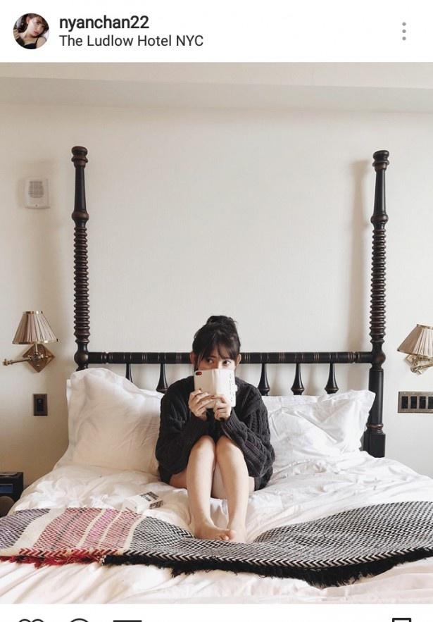 ※小嶋陽菜(nyanchan22)公式Instagramのスクリーンショット