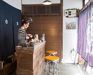 2〜3人の少人数でしっかり教わることができる日本茶ワークショップ