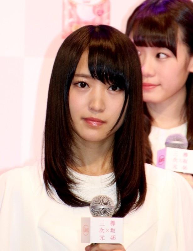 """【写真を見る】""""癒し系""""美少女の菅井友香。ほんわかした雰囲気がキュート!"""