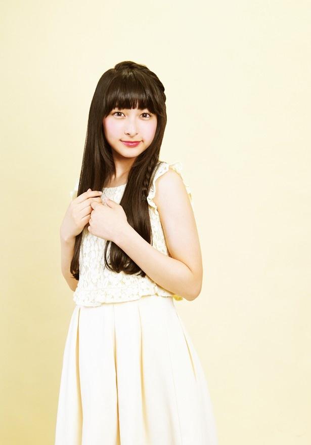 「花のち晴れー」で迫真の演技を見せた牧内莉亜。本作で女優デビューとなるが、高い演技力に大注目の若手女優だ