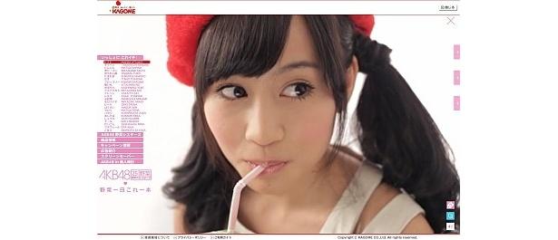 動画はどアップで、かわいさにドキドキ!!前田敦子はトマト姿!