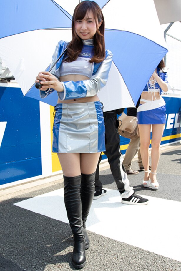 富士24時間レースで見かけた美人レースクイーン40名(3/40)
