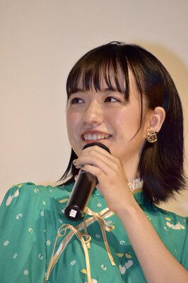 「馬の骨」で映画初主演の小島藤子さん