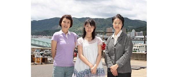 瀧本美織、安田成美、富司純子、3世代が尾道でそろって会見