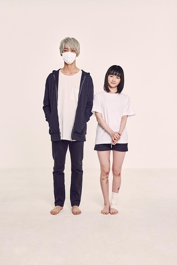 マスク姿の誘拐犯・お兄さん(上杉柊平)と感情のない被害者・幸(山田杏奈)「幸色のワンルーム」
